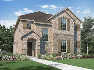 Plan Lynnwood - Wellington: 40ft. lots: Haslet, Texas - Highland Homes
