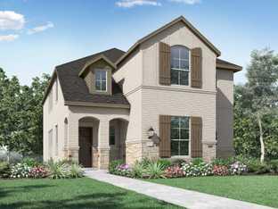 Plan Belmont - Pecan Square: Northlake, Texas - Highland Homes