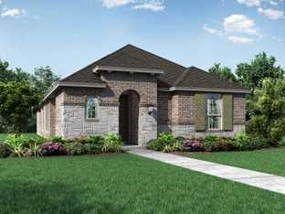 Plan 301 - Trinity Falls: 40ft. lots: McKinney, Texas - Highland Homes