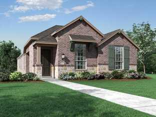 Plan 302 - Trinity Falls: 40ft. lots: McKinney, Texas - Highland Homes