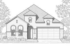 Plan Newport - Meridiana: 50ft. lots: Iowa Colony, Texas - Highland Homes