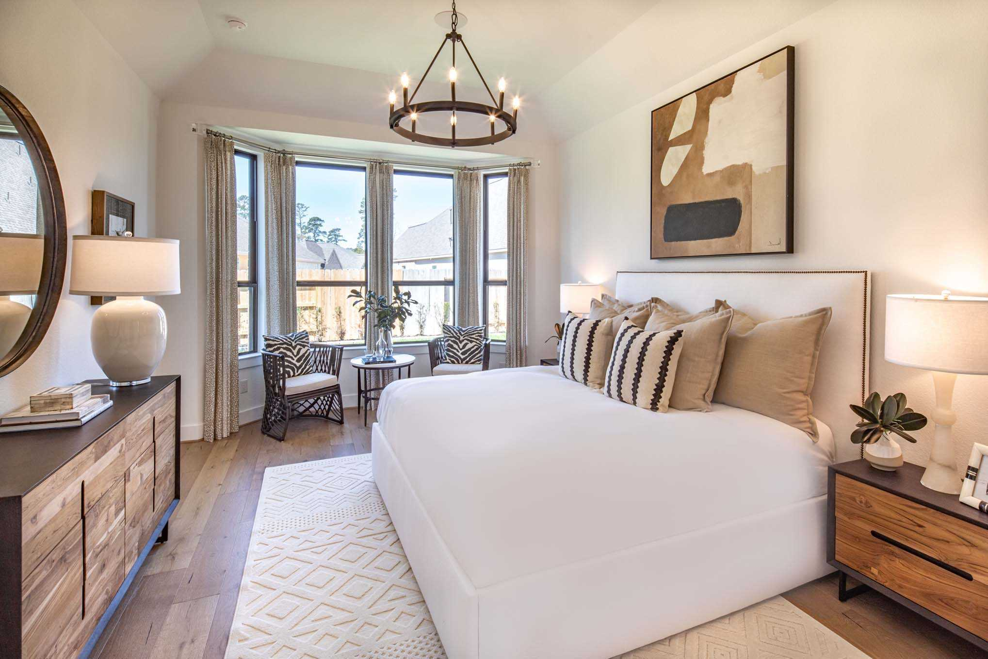 Bedroom featured in the Plan Newport By Highland Homes in Houston, TX