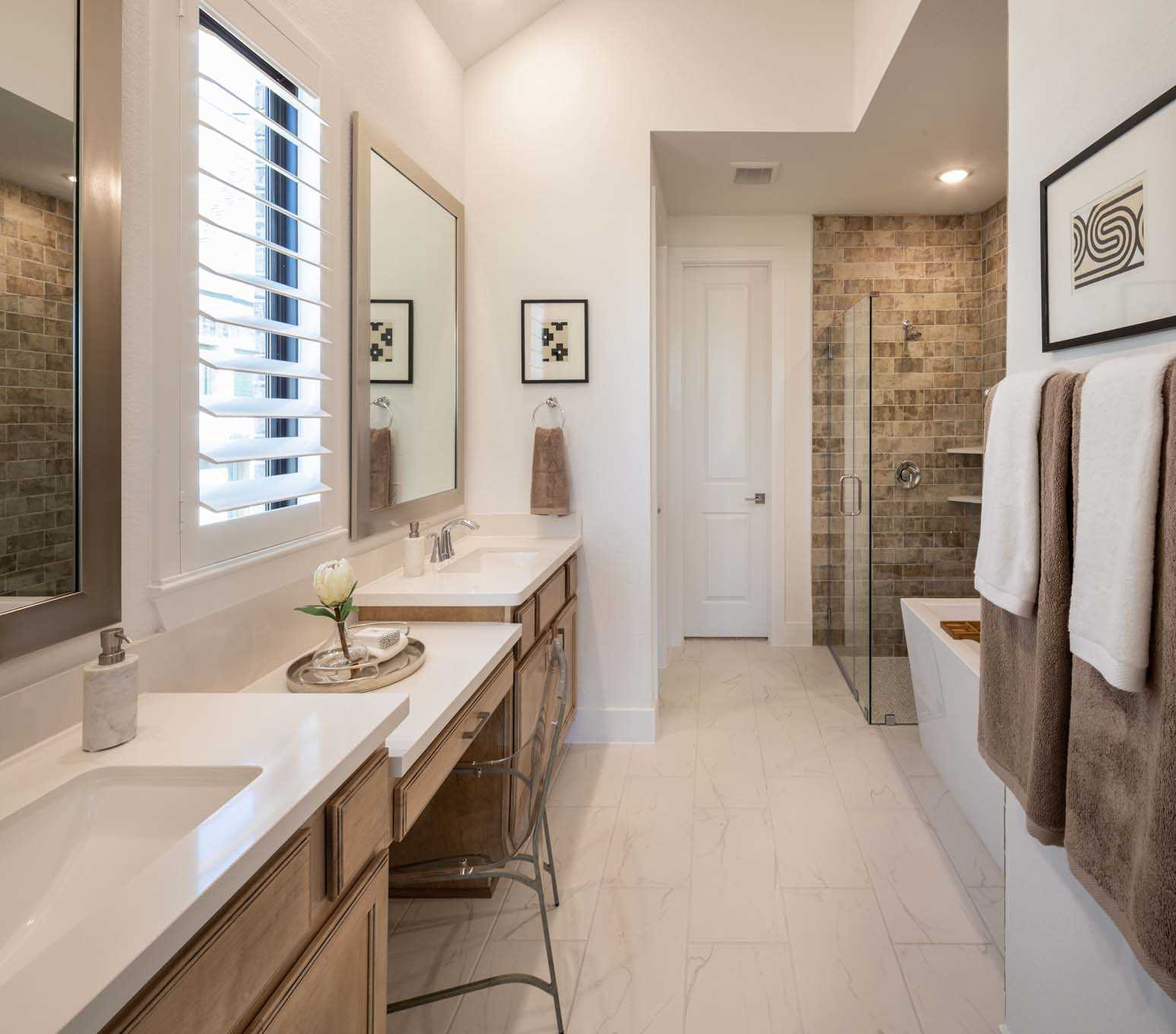 Bathroom featured in the Plan Newport By Highland Homes in Houston, TX