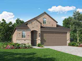 Plan Bristol - Veranda: 40ft. lots: Richmond, Texas - Highland Homes
