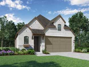 Plan Preston - Meridiana: 40ft. lots: Iowa Colony, Texas - Highland Homes
