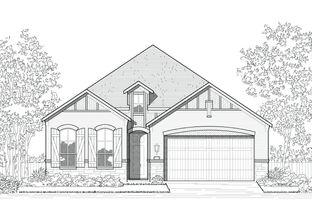 Plan Newport - Jordan Ranch: 55ft. lots: Fulshear, Texas - Highland Homes