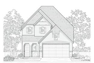 Plan Everleigh - Thompson Farms: 40ft. lots: Van Alstyne, Texas - Highland Homes