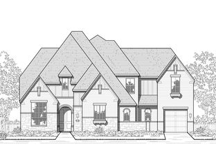 Plan 289 - M3 Ranch: 80ft. lots: Mansfield, Texas - Highland Homes