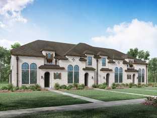 Plan Bolton - Walsh: Townhomes: Aledo, Texas - Highland Homes