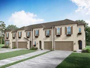 Plan Bradley - Devonshire: Townhomes: Forney, Texas - Highland Homes