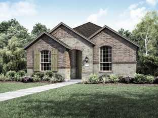 Plan 300 - Trinity Falls: 40ft. lots: McKinney, Texas - Highland Homes