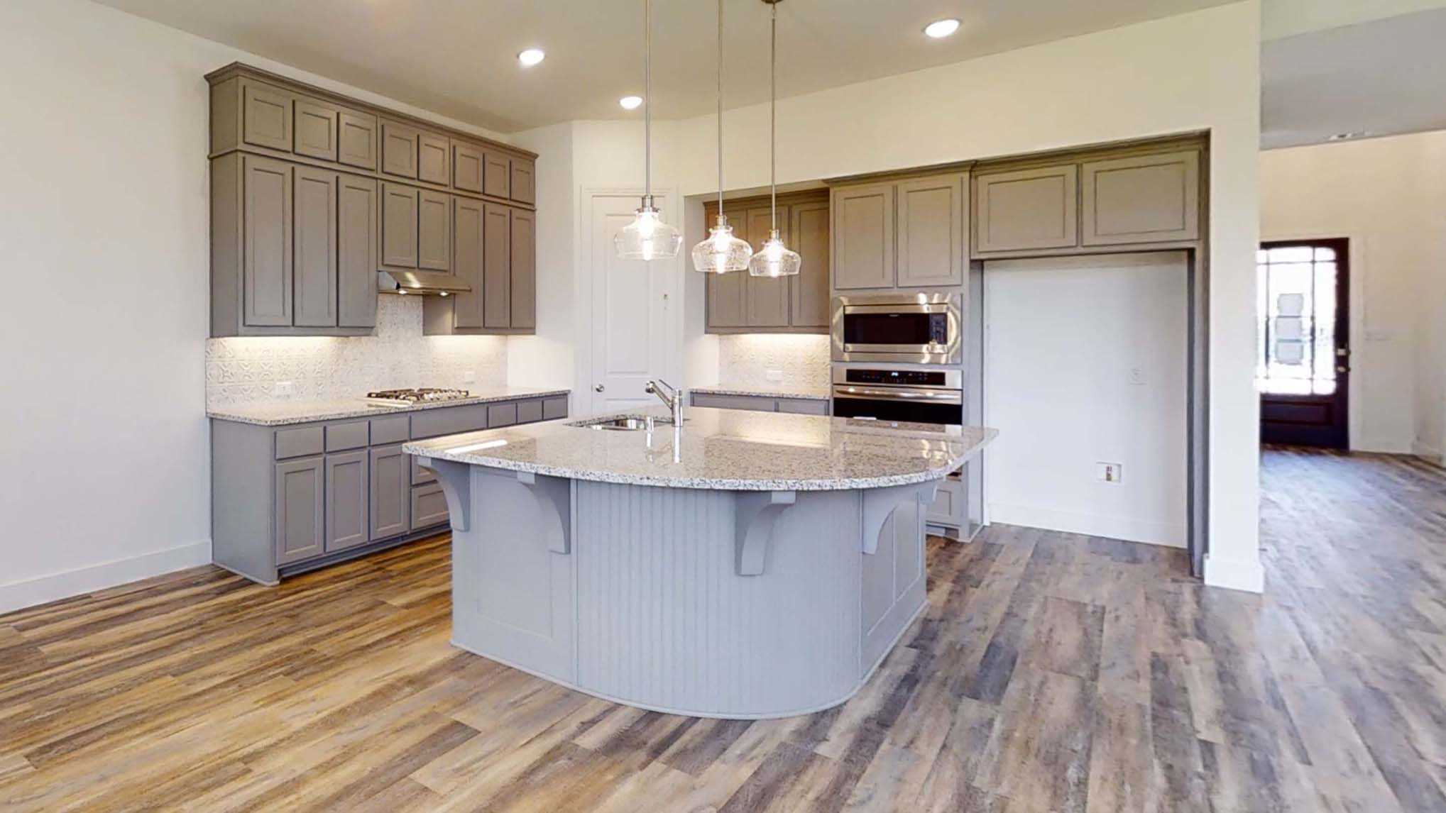 Kitchen featured in the Plan Blenheim By Highland Homes in Dallas, TX