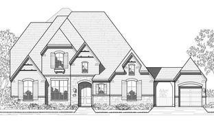 Plan 222G - Canyon Creek Estates: Sherman, Texas - Highland Homes