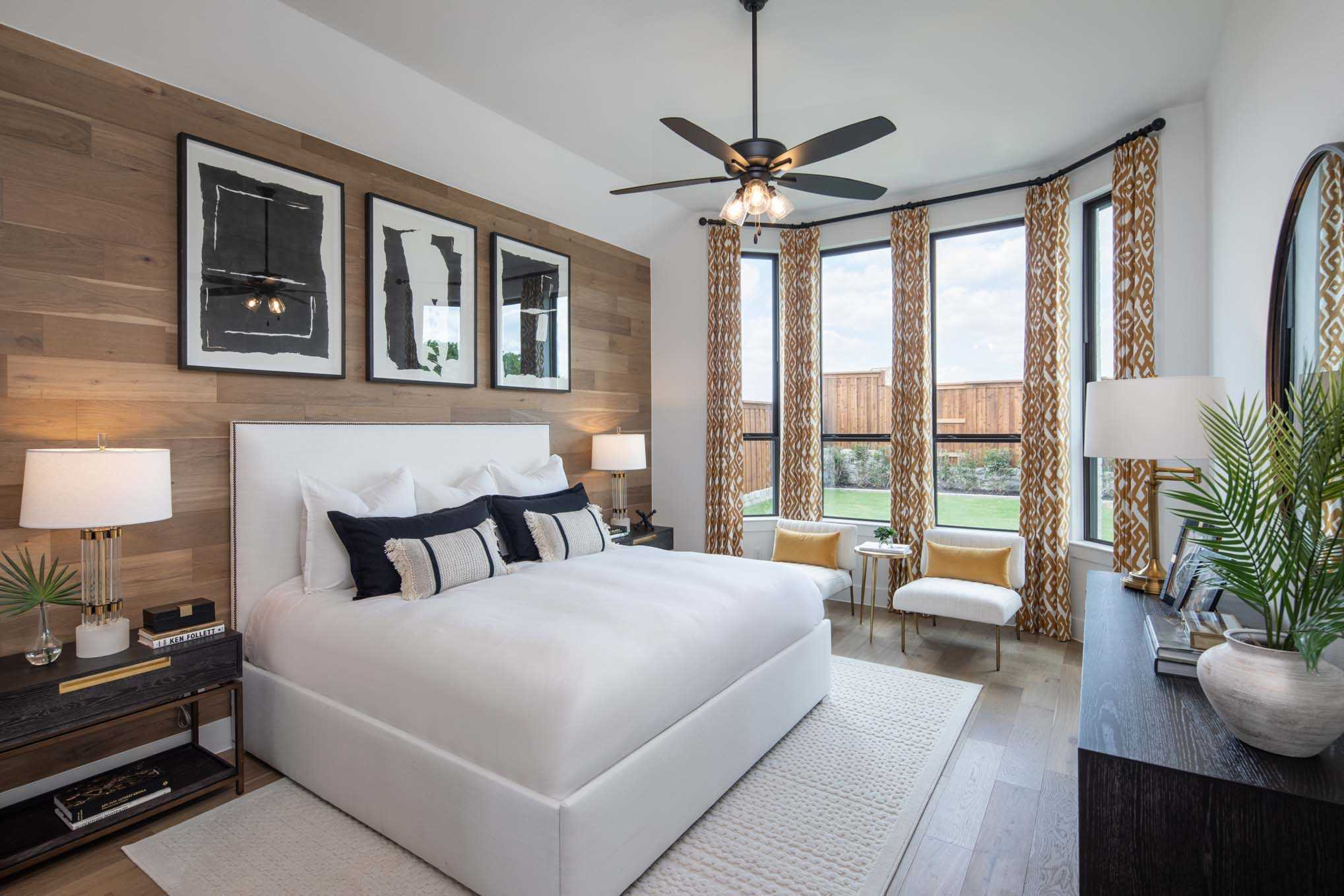 Bedroom featured in the Plan Davenport By Highland Homes in Houston, TX