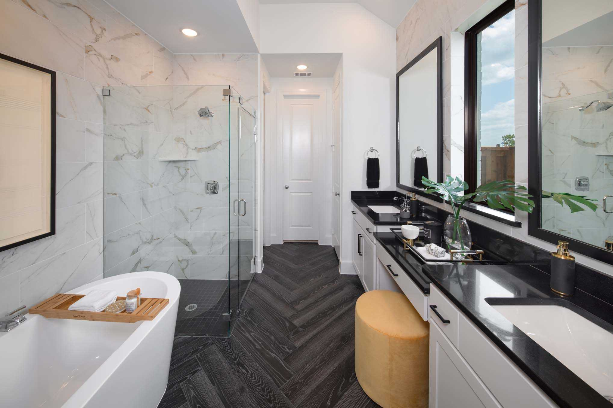 Bathroom featured in the Plan Davenport By Highland Homes in Houston, TX
