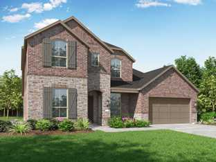 Plan Wimbledon - Gateway Parks: 60ft. lots: Forney, Texas - Highland Homes