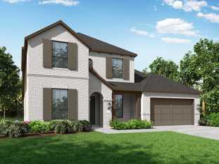 Plan Wimbledon - Artavia: 60ft. lots: Conroe, Texas - Highland Homes