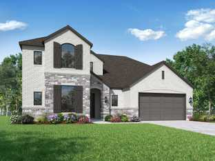 Plan Roxburgh - Davis Ranch: 60ft. lots: San Antonio, Texas - Highland Homes
