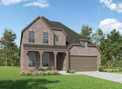 Plan Westbury - Grand Central Park: 55ft. lots: Conroe, Texas - Highland Homes