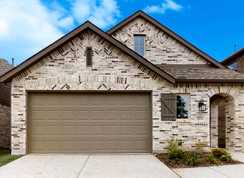Plan Windermere - Clements Ranch: 40ft. lots: Forney, Texas - Highland Homes