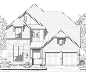 Plan 568 - Elyson: 55ft. lots: Katy, Texas - Highland Homes