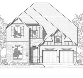Plan 569 - Tavolo Park: 50ft. lots: Fort Worth, Texas - Highland Homes