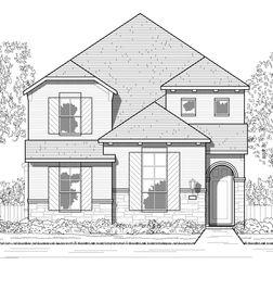 Plan Kimberley - Wellington: 40ft. lots: Haslet, Texas - Highland Homes