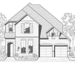 Plan 566 - Tavolo Park: 50ft. lots: Fort Worth, Texas - Highland Homes