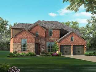 Plan 234 - Sandbrock Ranch: 60ft. lots: Aubrey, Texas - Highland Homes