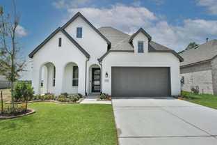 Plan Amberley - Balmoral: Humble, Texas - Highland Homes
