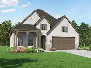 Plan Amberley - Davis Ranch: 50ft. lots: San Antonio, Texas - Highland Homes