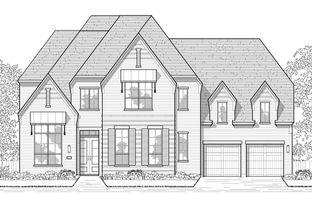 Plan 608 - Cane Island: 80ft. lots: Katy, Texas - Highland Homes
