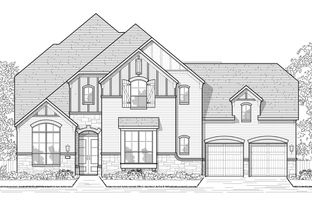 Plan 608 - Woodforest - Noble Greens: Montgomery, Texas - Huntington Homes