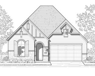 Plan Kingston - Meridiana: 50ft. lots: Iowa Colony, Texas - Highland Homes