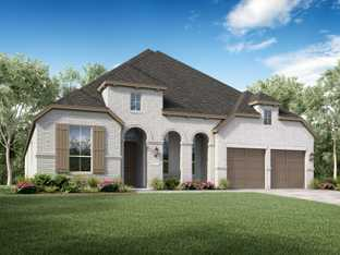 Plan 213 - Jordan Ranch: 65ft. lots: Fulshear, Texas - Highland Homes