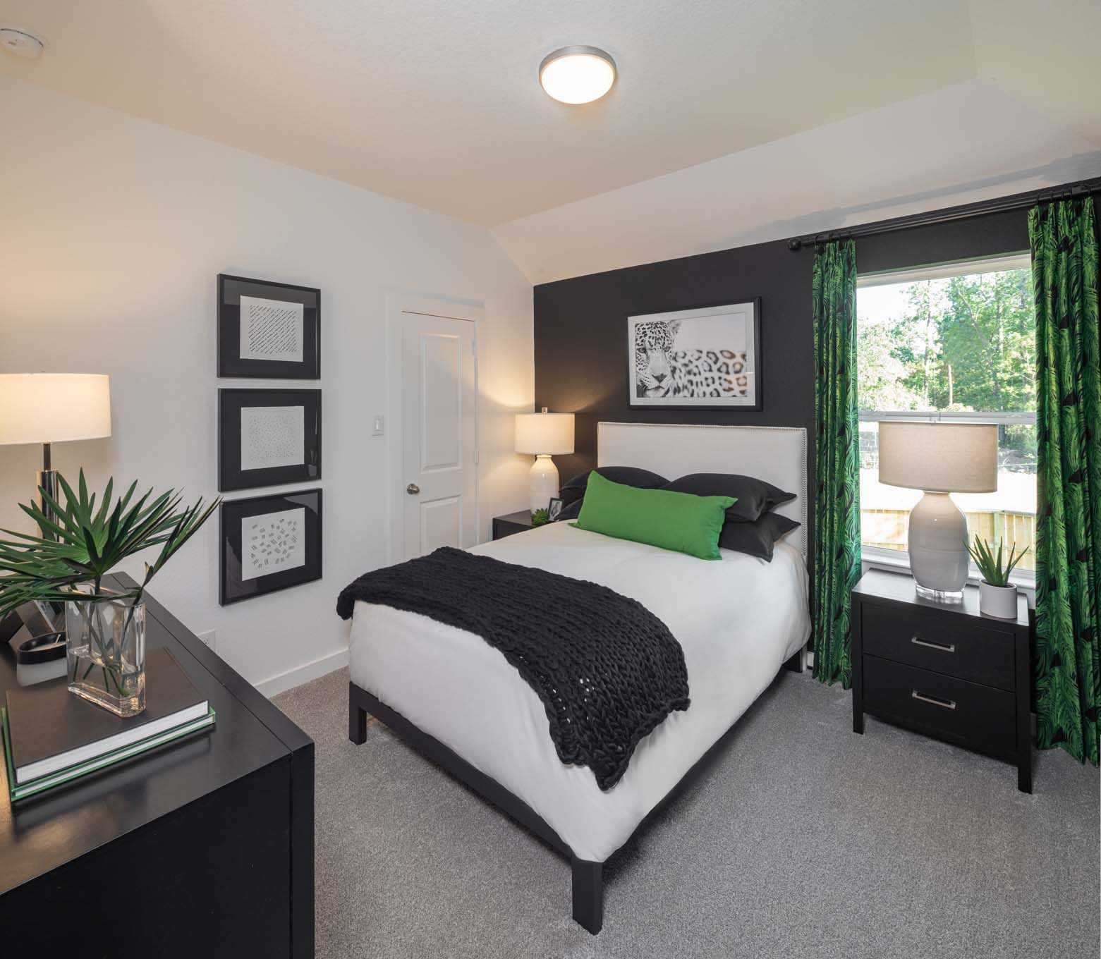 Bedroom featured in the Plan Ellington By Highland Homes in Houston, TX