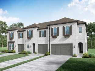 Plan Derby - Devonshire: Townhomes: Forney, Texas - Highland Homes