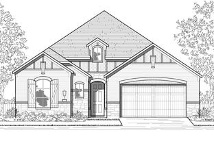 Plan Brentwood - Gateway Parks: 60ft. lots: Forney, Texas - Highland Homes
