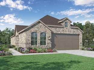 Plan Wales - Meridiana: 40ft. lots: Iowa Colony, Texas - Highland Homes