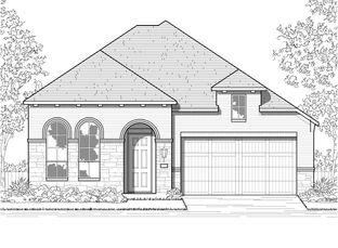 Plan Ferryhill - Jordan Ranch: 55ft. lots: Fulshear, Texas - Highland Homes