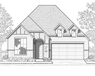 Plan Ferryhill - Meridiana: 50ft. lots: Iowa Colony, Texas - Highland Homes