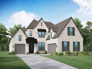 Plan 227 - Sandbrock Ranch: 60ft. lots: Aubrey, Texas - Highland Homes