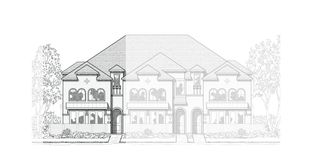 Plan Ansley - Trinity Falls: Townhomes: McKinney, Texas - Highland Homes
