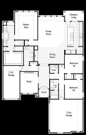 Plan 230 - Stone Creek: Rockwall, Texas - Highland Homes