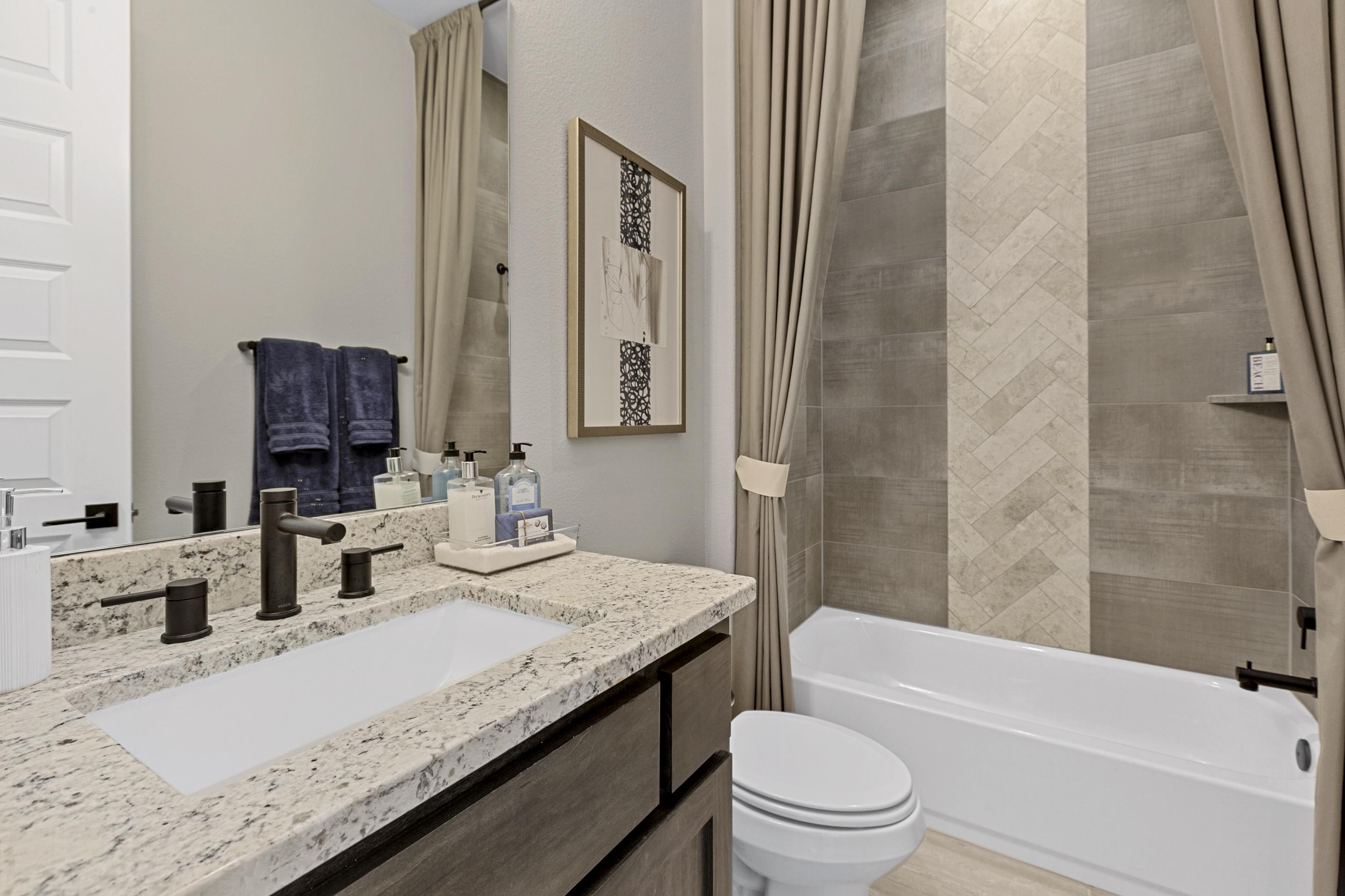 Bathroom featured in the Copperleaf By Hill Country Artisan Homes in Austin, TX