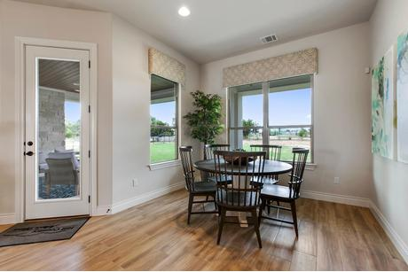 Breakfast-Room-in-Santolina-at-Rio Ancho Ranch-in-Liberty Hill