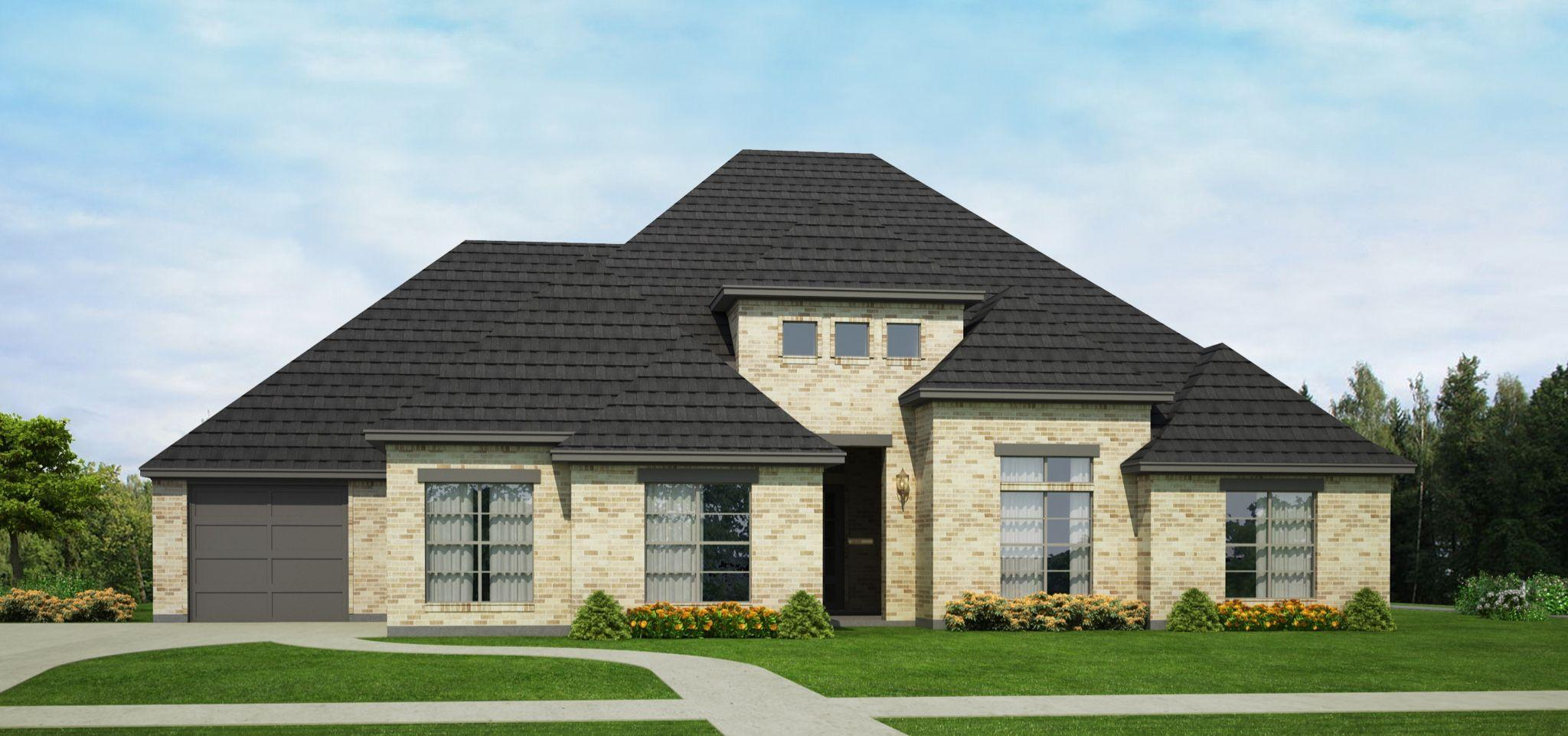 Exterior featured in the Presley By Brockdale in Dallas, TX