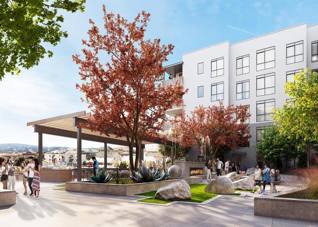 200 Linden Avenue Unit 400 (Plan C1.1)