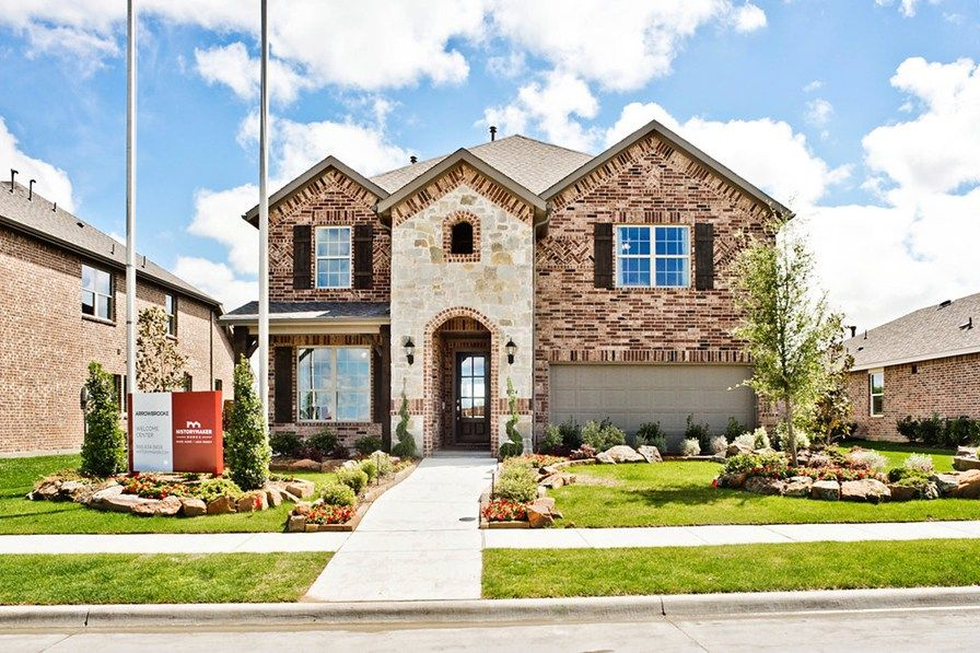 Arrowbrooke 50 39 s in aubrey tx new homes floor plans by for History maker homes floor plans