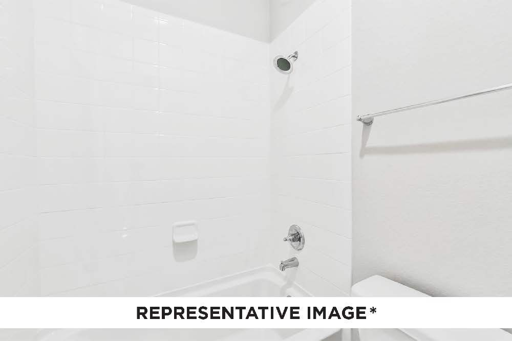 Bathroom featured in the Caddo By HistoryMaker Homes    in Houston, TX